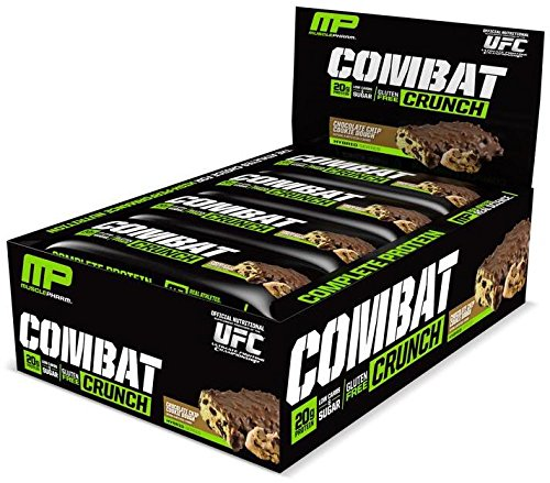 Muscle Pharm Combat Crunch Supplement, Chocolate Chip Cookie Dough, 12 Count, 26.67 Ounce (Protein Cookie Dough compare prices)