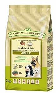 James Wellbeloved Adult Turkey and Rice Kibble 2 kg