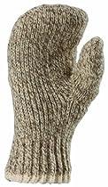 Fox River Mills 9988-06120 Medium Double Ragg Mitt Socks Brown Tweed Medium