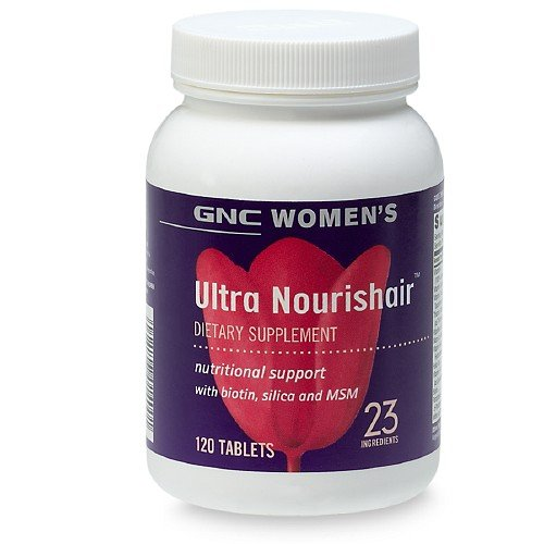 Gnc Women'S Ultra Nourish-Hair, Caplets 120 Ea