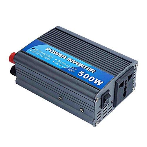 Weikin power inverter 500 Watt DC 12V to AC 220V 230V 240V volt for solar power system (Solar Power Ac compare prices)