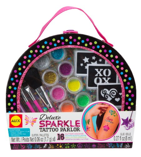 ALEX Spa Deluxe Sparkle Tattoo Parlor (Tattoo Kit For Kids compare prices)
