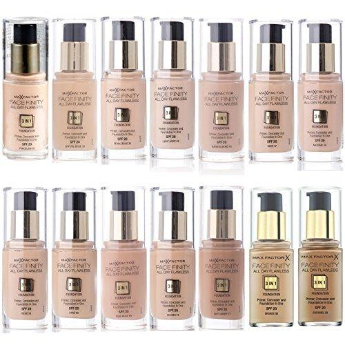 max-factor-3-en-1-facefinity-visage-base-maquillage-plus-10-different-produits-de-beaute-teintes-pod