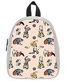 Art Funny Cats Kid's School Bag & Backpack for Kids