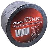 Avery Dennison Fasson Fas-FLEX Metalized BOPP Film HVAC Duct Tape, UL 181B-Fx, 360 ft x 2.83 in