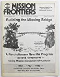 img - for Mission Frontiers, Volume 14 Number 9-12, September/December 1992 book / textbook / text book