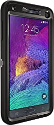 OtterBox Samsung Galaxy Note 4 Case Defender Series- Frustration-Free Packaging - Black
