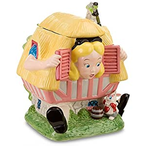 Disney Store Larger-than-Life Alice in Wonderland Cookie Jar