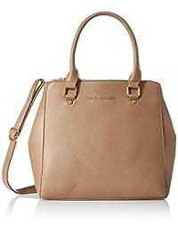 Lino Perros Women's Handbag (Beige) - B01BLAC8I4