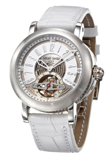 Gerald Genta Arena Tourbillon Men's Automatic Watch ATR-X-75-918-CD-BD