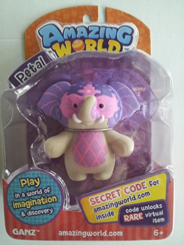Amazing World Figures Petal Elephant (From the Creators of Webkinz) - 1