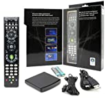 Noah Company MediaGate GP-IR02BK Windows Vista Home Premium and Windows Vista Ultimate MCE Remote Control, 2 Channel IR (Black)