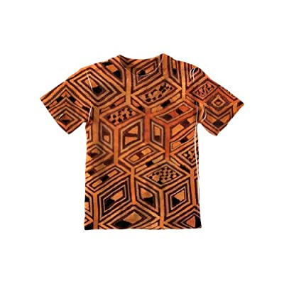 NewStyleUSA- African Tribal Kuba Cloth -Tagless- Kids Shirt