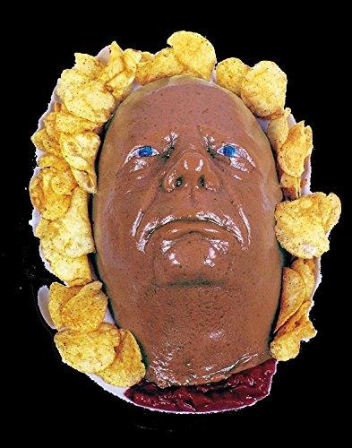 [UnDead Severed HEAD DESSERT JELLO GELATIN MOLD Zombie Food Halloween Horror Prop] (Witch Doctor Costume Diy)