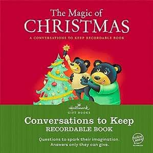 Amazon THE MAGIC OF CHRISTMAS HALLMARK RECORDABLE