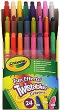 Comprar Crayola 24ct Mini Twistable - Ceras de colores con efectos especiales (24 unidades)