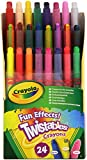 Crayola 24 Ct Twistables Fun Effect Crayons