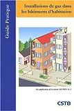 echange, troc Bruno Bergamaschi - Installations de gaz dans les bâtiments d'habitation