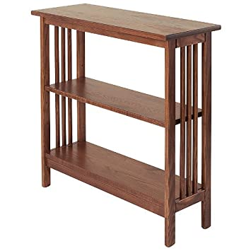 "Manchester Wood Mission 30"" Bookshelf - Chestnut"