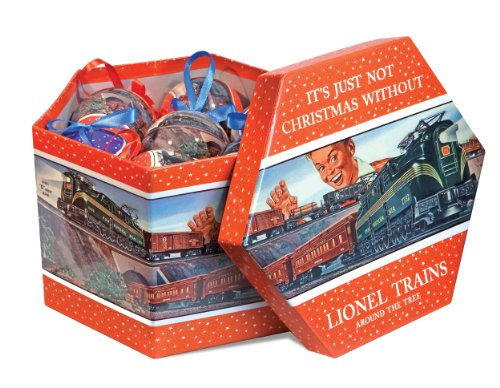 Lionel Trains Post-War Ornament Gift Box