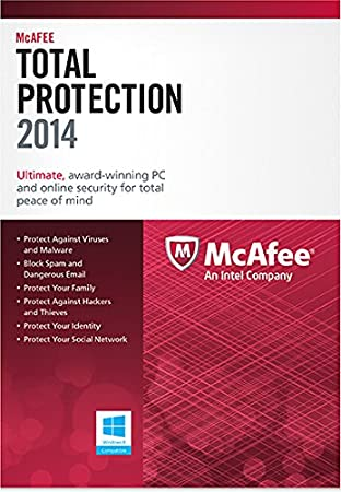 McAfee Total Protection 3PC - 1 Year 2014 [Online Code]