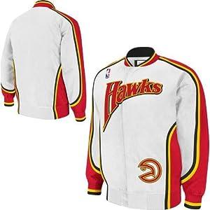 NBA Mitchell & Ness Atlanta Hawks Hardwood Classics On-Court Jacket by Mitchell & Ness
