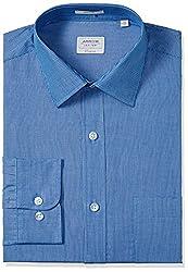 Arrow Men's Formal Shirt (8907378513823_ASSF0199_46_Medium Blue)