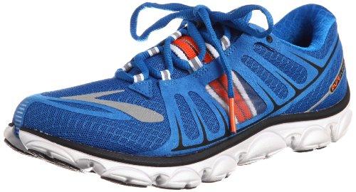 0558c630677ef Brooks Men s PureFlow 2 Lightweight Running Shoes Color SkyDvr Orngade Slvr  Blck Wht Size 10