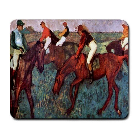 Before The Start By Edgar Degas Mouse Pad