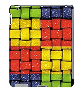 Fuson 3D Printed Pattern Designer Back Case Cover for Apple iPad 4 - D1002