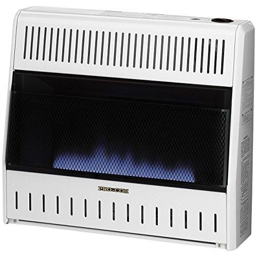 Procom MN300HBA Vent Free Natural Gas Blue Flame Space Heater - 30,000 BTU, Manual Control (Procom Gas Vent Free compare prices)