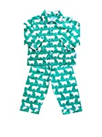 Toby Tiger Pijama Pjtsheep (Verde)