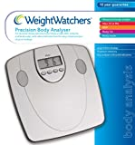 Weightwatchers Body Fat Precision Bathroom Scale Silver (Weight watchers bmi electonic bathroom scales)