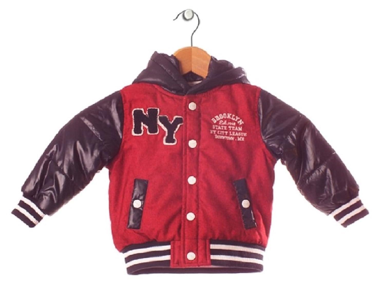 Minoti Junge Übergangsjacke Highschool Basketball Kleinkind rot mit Kapuze Minoti K5 jetzt kaufen