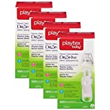 Playtex Baby Nurser Drop-Ins Baby Bottle Disposable Liners, Closer to Breastfeeding, 8 Ounce - 100 Count (Color: Multi, Tamaño: 8 Ounce - 100 Count)