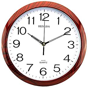 Sinceda Modern Quartz Analog Digital Wall Clock Home Kitchen