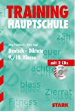 img - for Hauptschule Training Deutsch Diktate 9. Klasse. Mit 2 CDs. book / textbook / text book