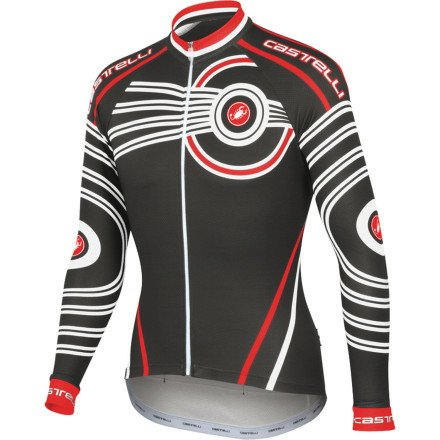 Image of Castelli Mugello Jersey - Long-Sleeve - Men's (B0093QAZ1Q)