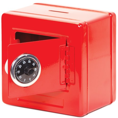 Frontier Safe - Steel Safe With Combination Lock (Blue, Black Or Red) front-185632