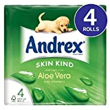 Andrex Skin Kind Toilet Tissue with Aloe Vera & Vitamin E 4 per pack