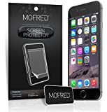 MOFRED 12 x Apple iPhone 6 (4.7 inch Screen Display) - Screen Protectors Retail Packed with Cleaning Cloth and Application Card (12 in Pack)