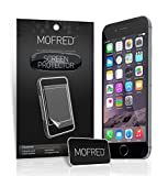 """New Apple iPhone 6 (4.7"""" Screen Display) - Screen Protectors Retail Packed with Cleaning Cloth and Application Card (6 in Pack)"""