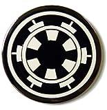 """Star Wars IMPERIAL EMPIRE Logo 1 1/4"""" Diameter Metal/Enamel PIN"""