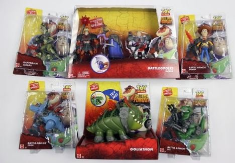 Disney Toy Story That Time Forgot Complete Set Bundle with Goliathon
