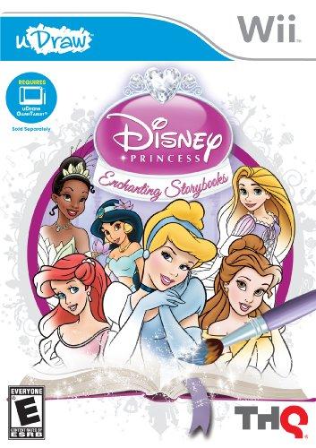 uDraw Disney Princess: Enchanting Storybooks - Nintendo Wii - 1
