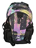 High Sierra Loop Backpack - Black/Purple Pattern