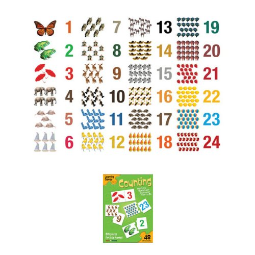 Masterpieces 10211 Counting Game Learning Puzzle - 48 Pieces