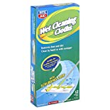 Rite Aid Wet Cleaning Cloths Disposable Refills, Lemon Scented, 12 cloths