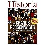 Historia special; les grands personnages de l'histoire de france; sondage exclusif;napoleon;ch... de gaulle