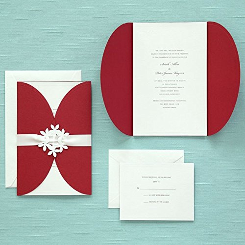 40 Count Red Jacket Invitation Kit 77553 Arts Entertainment Party Celebratio